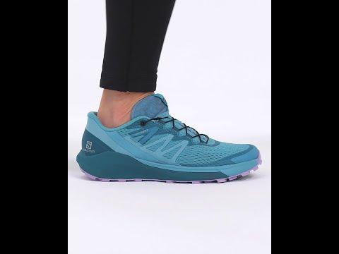 Salomon Sense Ride 4 Trail Running Shoes (Women's) Delphinium Blue/Mallard Blue/Lavender - Find Your Feet Australia Hobart Launceston Tasmania