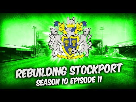 Rebuilding Stockport County - S10-E11 Champions League Semi Finals!  | Football Manager 2019