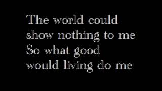 David Bowie God Only Knows With Lyrics