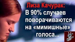 """Лиза Качурак критикует """"ГОЛОС.ДЕТИ"""" (Волгоградское ТВ)"""