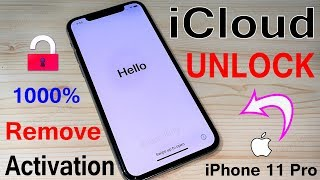 Remove Activation! Unlock iPhone 11 Pro iOS 13.1.3 iCloud Bypass 100% Success [Nov,2019]