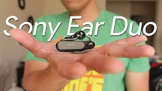 Sony Xperia Ear Duo hands-on: always aware of your surroundings