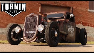 "1935 Ford Rat Rod ""MoonShine"" 