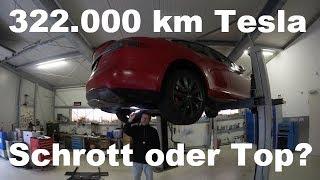 322.000 Kilometer  Mit Einem Tesla Model S P85! Schrott Oder Top ?