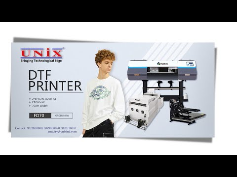 FD70-2 DTF Digital Printing Machine