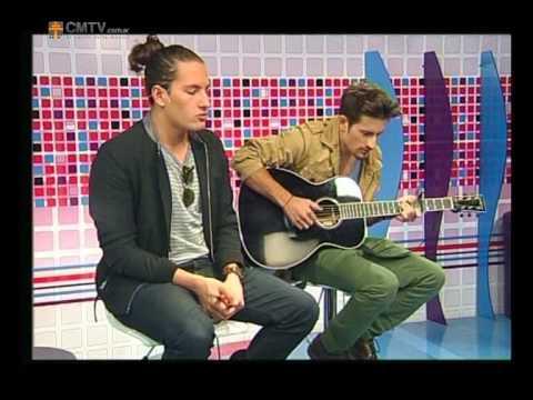 Mau y Ricky video Si quisieras - Acústico en CM - 2013