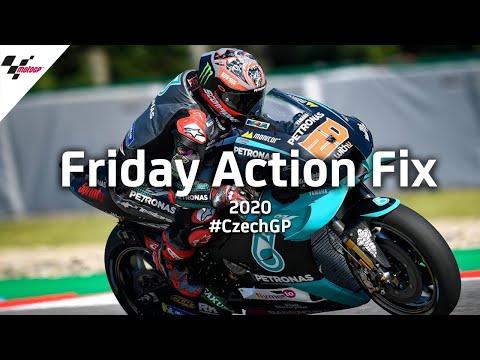 MotoGP チェコGP 金曜日の走行練習ハイライト動画