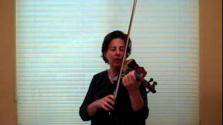 Violin How to Think of Bowing in 3 Dimensional Space - www.myviolinvideos.com