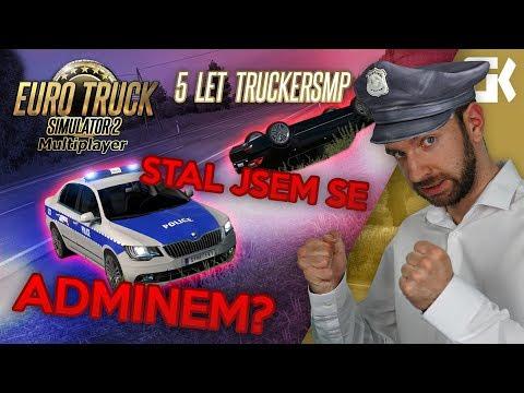 STAL JSEM SE ADMINEM? | Euro Truck Simulator 2 Multiplayer