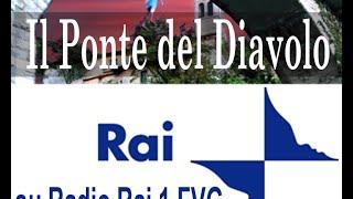 preview picture of video 'Il romanzo noir Il Ponte del Diavolo di Alberth Mayhem su Radio RAI 1 FVG'