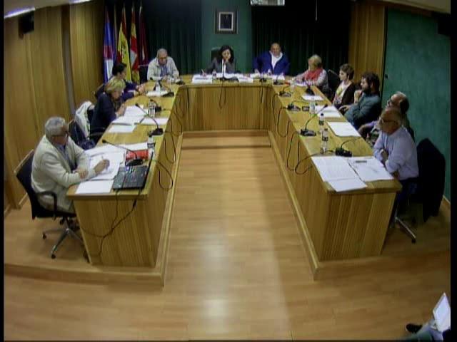 Pleno Ordinario (30 de octubre de 2017)