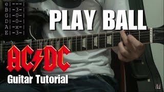 Play Ball (AC/DC) - Video Lesson