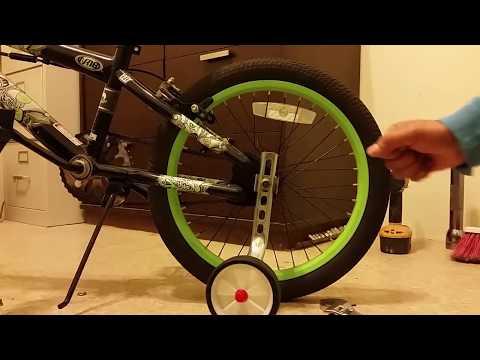 Como ponerle llantitas a una bicicleta de niño, editado