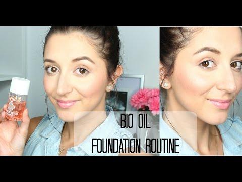 DEWY FOUNDATION ROUTINE | USING BIO OIL