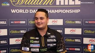 "Jeffrey de Zwaan ""If I can play like this every game maybe it could be a final or World Champion?"""