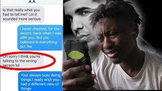 SONG LYRIC PRANK ON EX-GIRLFRIEND GONE WRONG!!!(DRAKE-SHOT FOR ME)