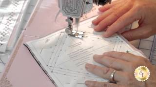 How To Make Half Square Triangles With Star Singles | A Shabby Fabrics Quilting Tutorial