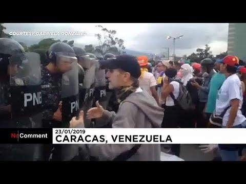 Διαδηλώσεις υπέρ και κατά της κυβέρνησης της Βενεζουέλας…