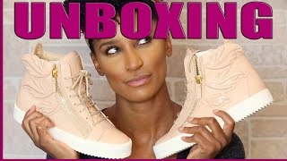 Giuseppe Zanotti Cruel Sneakers   Unboxing & Try On