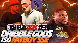 STEEZO AND GMAN ISO FATBOY SSE ON NBA 2K19 | UNSTOPPABLE DYNAMIC DUO UNLOCKED 🔥