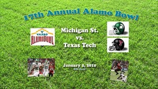 2010 Alamo Bowl (Michigan St. v Texas Tech) One Hour
