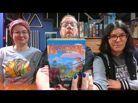 The Board Game Kaptain's review and tutorial for Mesozooic