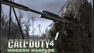 Call of Duty 4 - Миссия в Чернобыле!