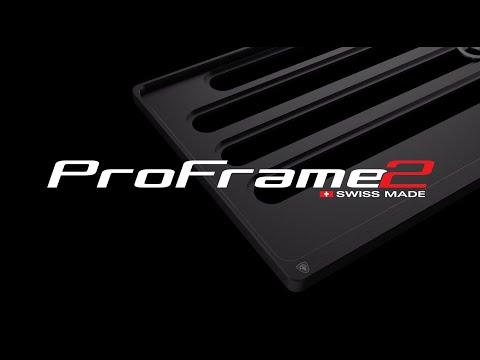 ProFrame2  - High End Kontrollschildhalterung - Automobile Schweiz