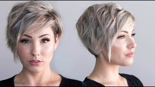 Voluminous Waves || PIXIE CUT
