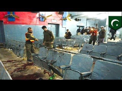 Pakistan cinema blast: two grenades kill at least 5