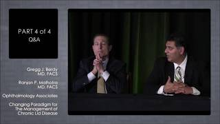Drs. Gregg Berdy & Ranjan Malhorta Discussing How They Use Avenova for Lid Hygiene