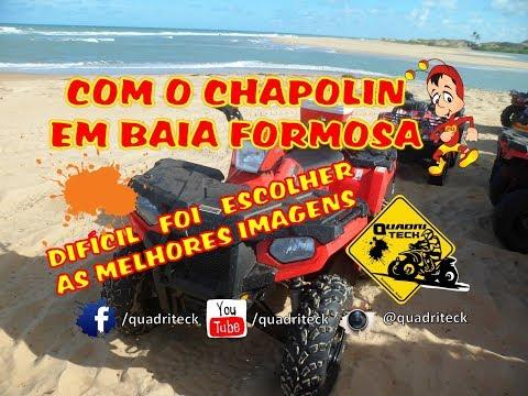 COM O CHAPOLIN EM BAIA FORMOSA - RN