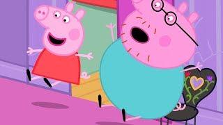 Video Peppa Pig Official Channel | Peppa Pig Slides in Madame Gazelle's House MP3, 3GP, MP4, WEBM, AVI, FLV Agustus 2019