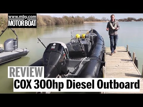 Exclusive test: World's most powerful diesel outboard | COX 300hp | Review | Motor Boat & Yachting
