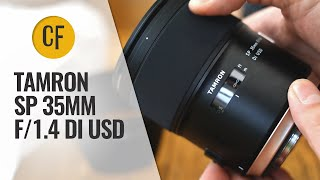 Tamron SP 35mm f/1.4 Di USD lens review with samples (Full-frame & APS-C)