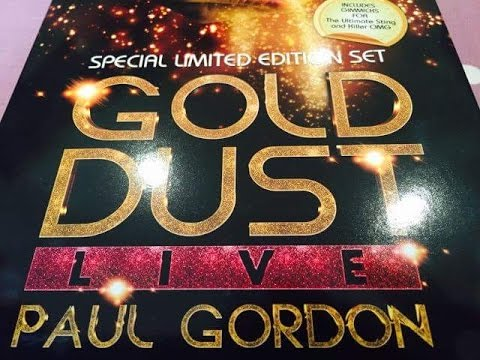 Paul Gordon Gold Dust Live 3 DVD Box Set - 37 Killer Card Tricks and Magic