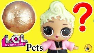Кукла ЛОЛ увидела ЗОЛОТОЙ ШАР! ПИТОМЦЫ и СЕСТРИЧКИ LoL Pets Surprise Обзор игрушек Мультик