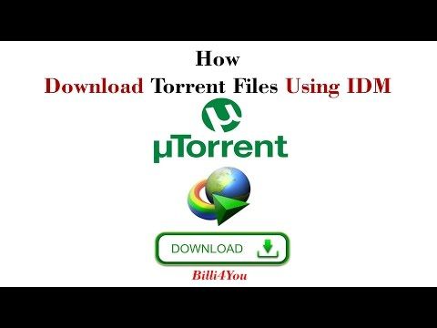 How To Download Torrent Files With IDM (Internet Download Manager)  Hindi