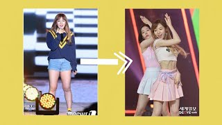 The importance of WEIGHT in K-pop