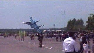 Катастрофа СУ 27 на авиашоу во Львове. Самолет упал на зрителей. Скниловская трагедия.
