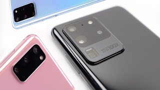 Samsung Galaxy S20 Ultra/S20+/S20 Hands-On! The details they didn't tell us