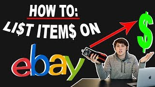How to List an Item on eBay (STEP by STEP)