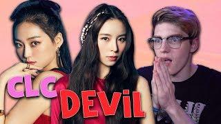 CLC(씨엘씨)   'Devil' Official Music Video REACTION!!