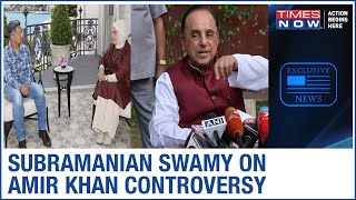 BJP MP Subramanian Swamy reacts on Amir Khan meeting with Turkish First Lady | EXCLUSIVE  IMAGES, GIF, ANIMATED GIF, WALLPAPER, STICKER FOR WHATSAPP & FACEBOOK