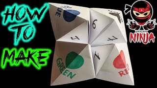 How To Fold: Origami Fortune Teller