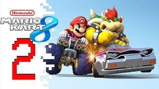 Let's Play Mario Kart 8 (Online Multiplayer) - EP02 - Still Noob