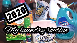 My 2020 Laundry Routine 🧺 | How I Make My Laundry Smell Fresh And Clean 🧺 | Bright Whites Tips 🤍