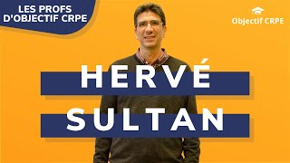 HERVÉ SULTAN, Professeur d'EPS cartesia_www.home.index.speaker.at Objectif CRPE