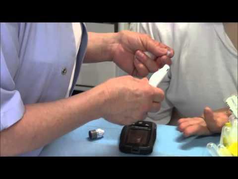 Controllo della pressione nel diabete