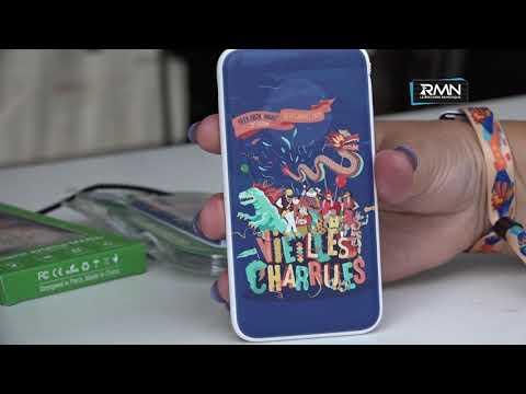#Charrues19 : Comment faire pour ... RECHARGER son téléphone